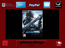 Metal Gear Rising Revengeance Steam PC descarga key Game nuevo envío rápido