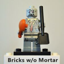 New Genuine LEGO Zombie Minifig with Shovel and Drumstick Series 1 8683