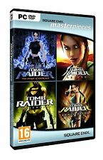 TOMB Raider Quadrilogy PC DVD