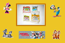 4 Pcs, McDonalds Happy Meal Toys. Mickey & Friends Collection. New. 1993 Series.