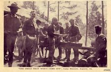 DOUGHBOYS AT MESS CAMP HANCOCK AUGUSTA, GA THE SMILE THAT WON'T COME OFF 19?