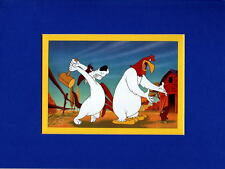 I SAY, I SAY, SON... PROFESSIONALLY MATTED PRINT Looney Tunes Foghorn Leghorn