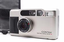 """""""Near Mint"""" Contax T2 Titanium Chrome 35mm Film Camera From Japan #372"""