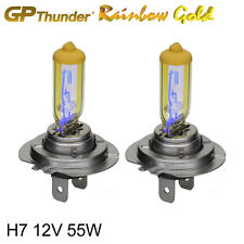 GP Thunder 2500K Rainbow Gold H7 12V 55W Xenon Light Bulbs Pair
