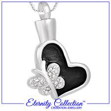 """Nouveau! ECN09 eternity collection cremation bijoux """"mousseux papillon"""" collier"""