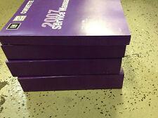 2007 CHEVY CORVETTE Service Shop Repair Manual Set FACTORY BOOKS 07 NEW