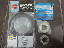HOOVER MACHINE À LAVER HNL7146-80 ROULEMENT DE TAMBOUR & JOINTS 6205Z 6204Z