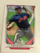 2014 Bowman Draft DP27 Justus Sheffield 10 Card Base Paper Lot Cleveland Indians