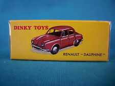 "DINKY TOYS RENAULT "" DAUPHINE "" ÉDITION ATLAS 24E"