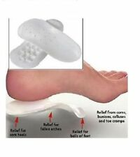 2XOrthotics Flat Feet Instep Pain Relief Foot Support Shoe Insoles Male & Female
