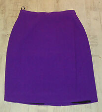 LUXUS LANDHAUS COUTURE ESCADA TWEED BOUCLE lila Rock skirt 36/38 SEIDE Hochzei