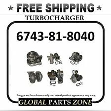 NEW TURBO for KOMATSU 6743-81-8040 PC300-7; PC350-7 SAA6D114E-2A-A FREE DELIVERY