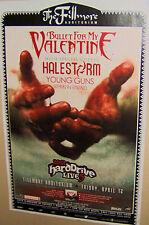 BULLET For My VALENTINE in Concert FILLMORE Poster Denver Co April 12th 2013