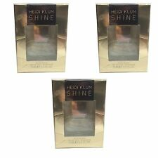 Heidi Klum Shine for Women 15ml EDT Spray x3