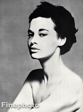 1954 Vintage 16x20 GLORIA VANDERBILT Fashion Designer Heiress By RICHARD AVEDON