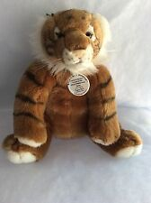 "BABW Build A Bear 14"" Tiger WWF Series w/ Plastic Tag Plush Very RARE HTF!  B11"