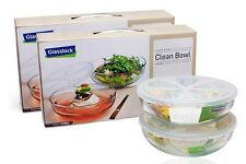[Glasslock] Multi-purpose Mixing Clean Bowl (2 pcs) Glass airtight container