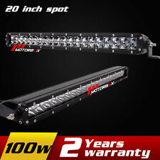 20inch 100w LED Spot Light Vehicel Off road Work Light Bar for Driving 4X4 SUV