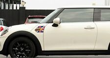 MINI COOPER f55 f54 f56 Union Jack Sticker Vinyl auto PARAFANGO Lato Ala Decalcomania