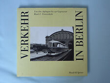 Buch, Verkehr in Berlin, Band 2 Fernverkehr, Eisenbahn, Luftfahrt, von 1988