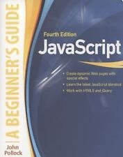 JavaScript: A Beginner's Guide, Fourth Edition, Pollock, John