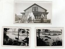 1953 MAINE Photograph Lot PHOTOS Belfast PERRY'S NUT HOUSE Route One PHOTO ME