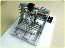 Mini 3-Axis CNC Router Engraver DIY Carving Machine for PCB PVC Milling Wood YN