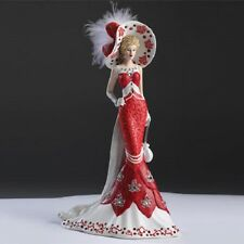 Lady Red - Crystal Elegance of Canada Swarovski Figurine -  Bradford Exchange