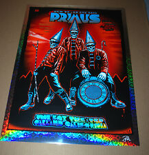 Primus NYE 2016 Poster Zoltron Print Holospaz Foil VARIANT Signed Numbered of 40