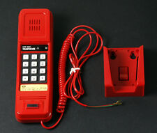 Vintage CTE-100 Red Wall Telephone Made in Hong Kong New Old Stock