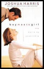 Boy Meets Girl : Say Hello to Courtship by Joshua Harris