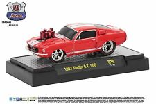 1:64 M2 Machines *GROUND POUNDERS R16* Red 1967 Shelby GT500 *NIB*