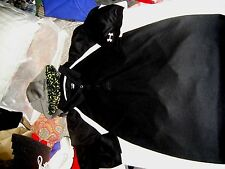 MEN'S UNDER ARMOUR POLO GOLF SHIRT BLACK WHITE SIZE XL