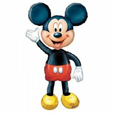 "Mickey Mouse Airwalker Balloon 52"" XL Jumbo Disney Foil Mylar Birthday Party"