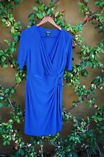 NEW Ralph Lauren Essentials Island Blue Dress Size 12
