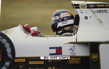 9x6 Photograph, Julian Bailey , Lotus-Judd 102B , Brazilian GP Interlagos 1991