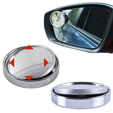 Fancy Wide Angle Convex Car Auto Blind Round Stick-On Side View Rearview Mirror
