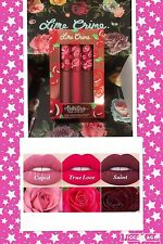 LIME CRIME VELVETINES LIQUID MATTE TRIO SET OF 3 TRUE LOVE, CUPID,SAINT