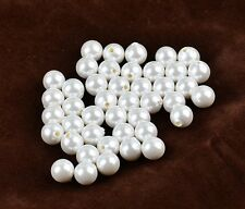 Wholesale4-30mm  high quality half hole pearl beads accessories DIY