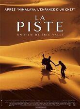 AFFICHE CINEMA ROULEE - LA PISTE - ERIC VALLI - PREVENTIVE - 120x160