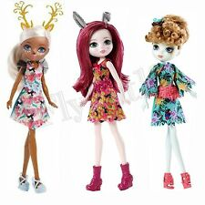 Ever After High DRAGON GAMES FOREST PIXIES Lot 3 Dolls Harelow/Featherly/Deerla