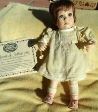 Cottage Collectibles Janie Doll #0583, With Box & COA