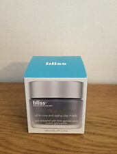 Bliss Multi -'Face'- Eted All-In-One Anti-Aging Clay Mask - 65g -BNIB
