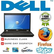 Working Office Laptop Dell Latitude E6410 Core i5 2.4GHZ 4GB 250GB Windows 7