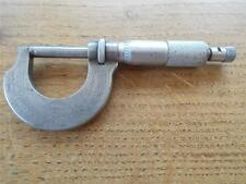 Vtg Micrometer Military Tool Birds Foot Mark MOORE & WRIGHT SHEFFIELD Militaria