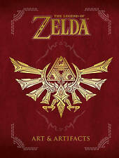 The Legend Of Zelda Art And Artifacts HC Hardcover Brand New