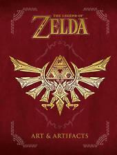 La Leyenda de Zelda-arte y artefactos por juegos de Nintendo Edición 01 libro de tapa dura