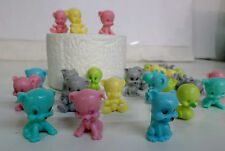 """NEW 1""""Animal Squisheez Squishy Squishies Multi-Colored Set of 10 Party Favors!"""