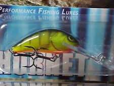 "Salmo Deep Hornet Lure H4SDR-HP ""HOT PERCH"" for Bass/Trout/Walleye/Pickerel"