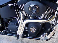 "NEW 2"" CHROME  LAF EXHAUST ,Y PIPES SOFTAILS, SPORTSTERS, BAGGERS CUSTOMS"